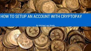 Basic Account Setup with CryptoPay