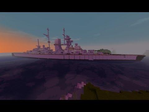 Minecraft: Schlachtschiff Bismarck + Download | Battleship Bismarck [1.0]