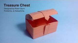 Origami Treasure Chest (robin Glynn) - Not A Tutorial