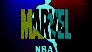 NBA Team Logos Marvel Comics