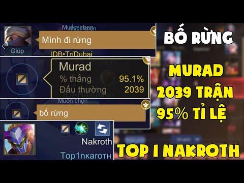 Bất Ngờ Mạnh Blue Bị Top 1 Nakroth Và Best Murad 2039 Trận 95% Tỉ Lệ Thắng Tranh Rừng Và Cái Kết