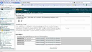 WHM Setup and Configuration (Part 2/7)