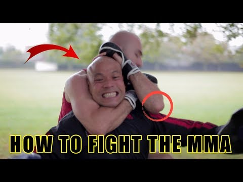 How to fight some one with boxing or mma experience