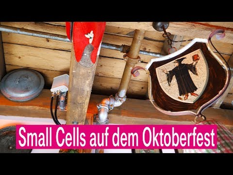 Social Media Post: Mobilfunk: Small Cells auf dem Oktoberfest