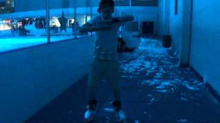 icesheffield skater showing off his dance moves