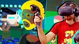 VR Laser Guns & Photobombs - REC ROOM