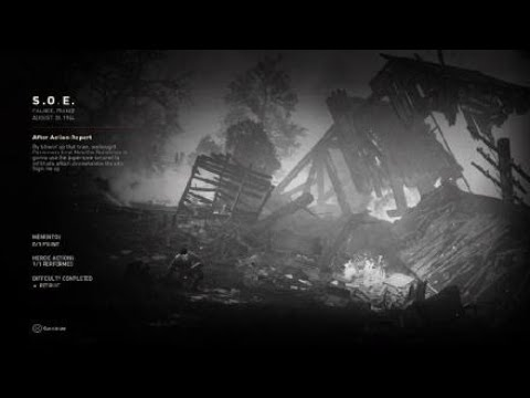 Call of Duty®: WWII Campaign Train Wreck