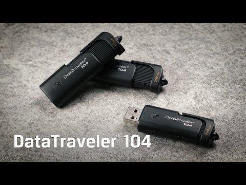 Sliding Cap USB Flash Drive – DataTraveler DT104 – Kingston Technology