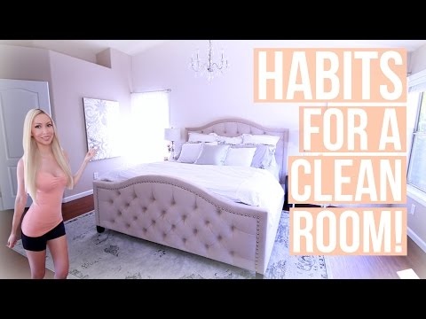 How to Keep Your Room Clean! Habits for a Clean Room