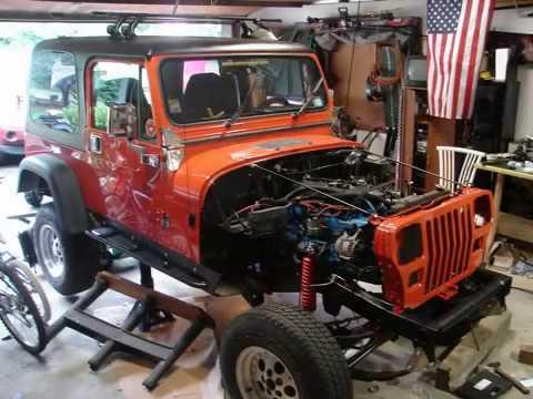 1991 jeep wrangler yj frame off rebuild 2009