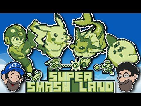SMASH BROS FOR THE GAME BOY!? || Super  Smash Land