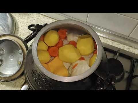 Съедобные кости (Edible Bones). Баранина с овощами (Lamb With Vegetables). Афганский Казан.