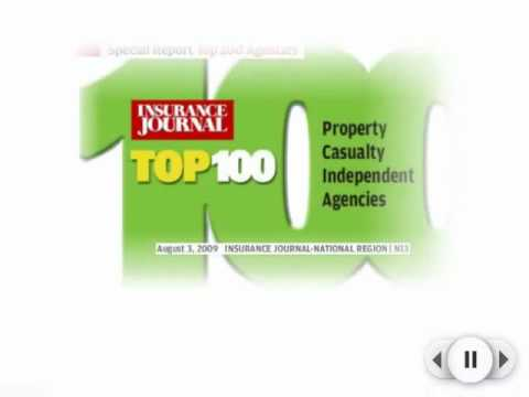 Insurance Journal Top 100 Agencies in 2009 - ISU Group at 4th Place!