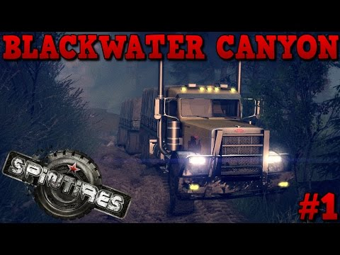 SpinTires | Blackwater Canyon Map | Unlocking First Garage | Part 1