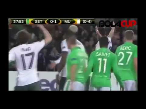 Download Saint-Etienne 0 - 1 Manchester United All Goals & Highlights - Europa League // 23-02-17