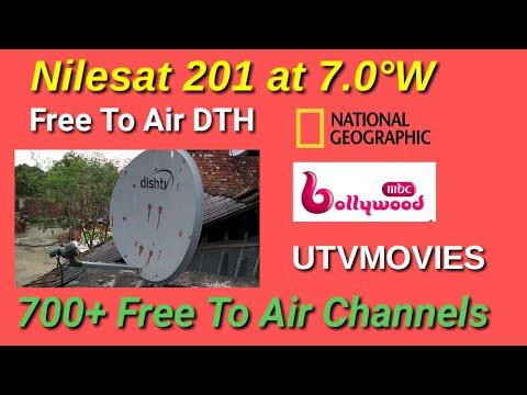 Nilesat 201 & Eutelsat 7 West A at 7 0°W Update TV Channel list 2018