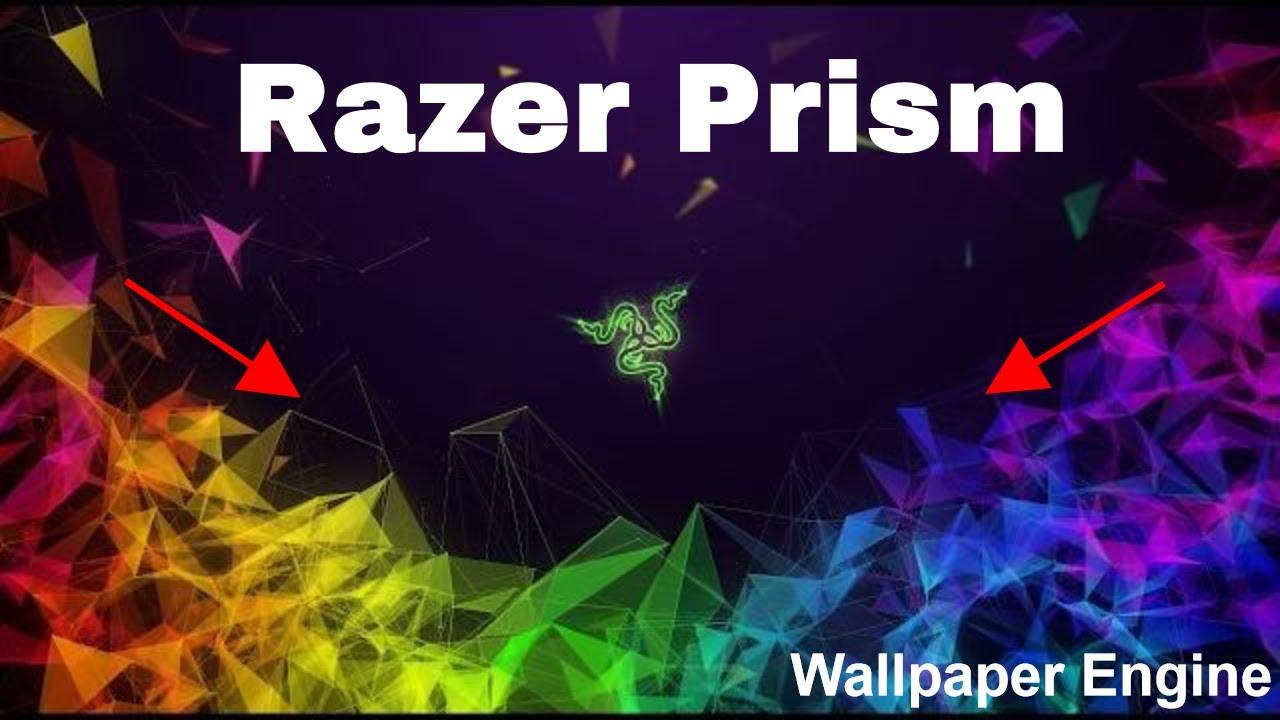 Razer Prism Desktop Wallpaper Wallpaper Engine Youtube