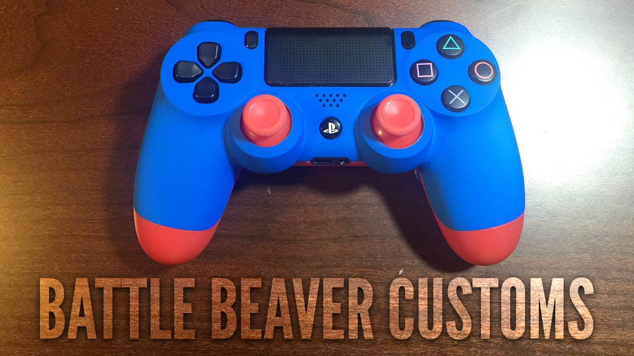 BEST PS4 CONTROLLER YET? | BATTLE BEAVER CUSTOMS PS4 CONTROLLER UNBOXING