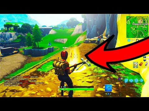 """Follow the treasure map found in Risky Reels"" Week 1 Season 5 Fortnite Challenge Location!"