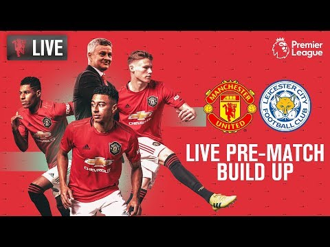Manchester United v Leicester City - LIVE MUTV Pre-Match Build Up 14:00 (BST) | Premier League