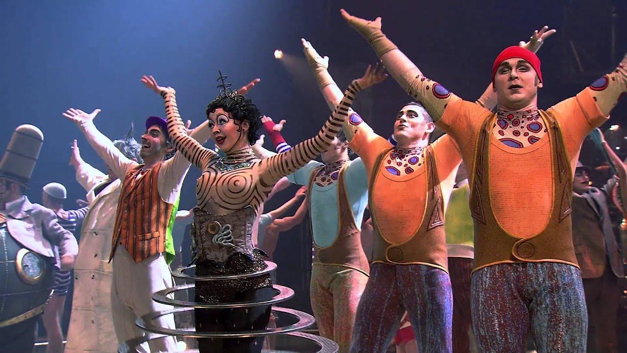 KURIOS- Cabinet of Curiosities by Cirque du Soleil - YouTube