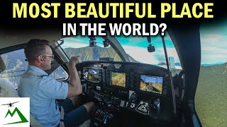 BEAUTIFUL SCENIC FLIGHT through Mountain Passes in Papua New Guinea | Bush Pilot Flight Vlog