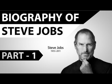 Biography Of Steve Jobs Part 1 - Life Of A Great Leader, Innovator, Thinker & Entrepreneur