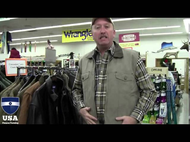 Concealed Carry Jackets For Winter