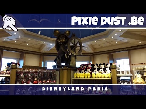 Bay Boutique   New shop 2016 at Disney's Newport Bay Club   Disneyland Paris