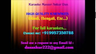 Nazrein mili dil dhadka Karaoke-Raja By Ankur Das 09957350788