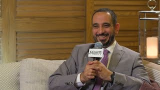 Tarek El Ganainy on Saturday Night Live Arabia - Variety Studio Dubai Film Festival