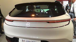 Byton Electric Car At CES Las Vegas 2019 The Anti-Tesla