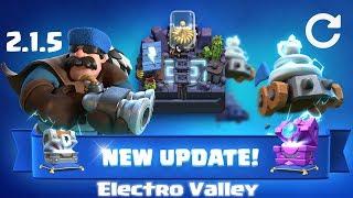 Itt az Electro Valley, új chestek, új kártyák! | Clash Royale