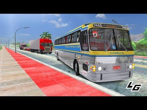 🔴[OMSI 2] CMA Flecha Azul VII Scania K113CL +G27 - Mapa Brasil Viagem Bahia