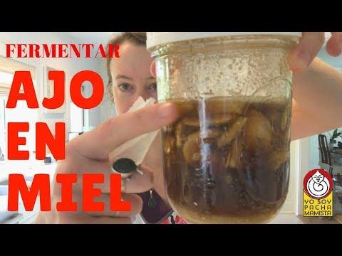 Cómo fermentar AJO en MIEL cruda