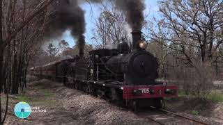 Australian Steam - 2705 and 3265 - NSW Rail Museum - February 2020