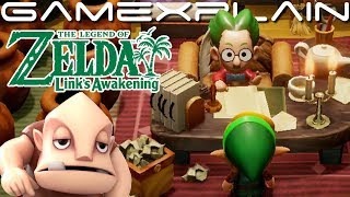 Visiting Mr Write, Dampé, & Tal Tal Heights by Sequence Breaking in Zelda: Link's Awakening (Switch)