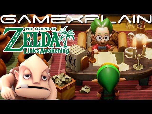 Zelda Link's Awakening new cameo Ocarina of Time footage