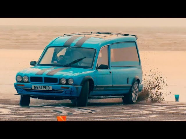The Overtaker vs Mercedes-AMG E63 S ft. The Stig | Top Gear: Series 27
