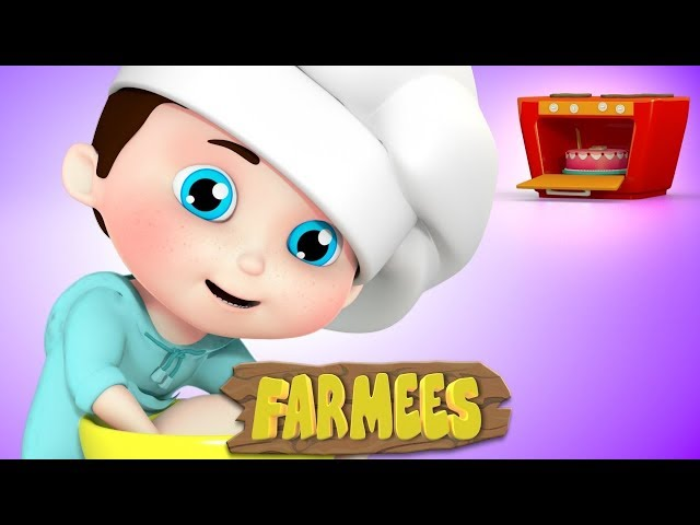 Pat A Cake | Nursery Rhymes | Baby Rhymes | Children Song by Farmees