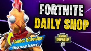 Fortnite Daily Shop *NEU* Tender Defender Skin (23 November 2018)