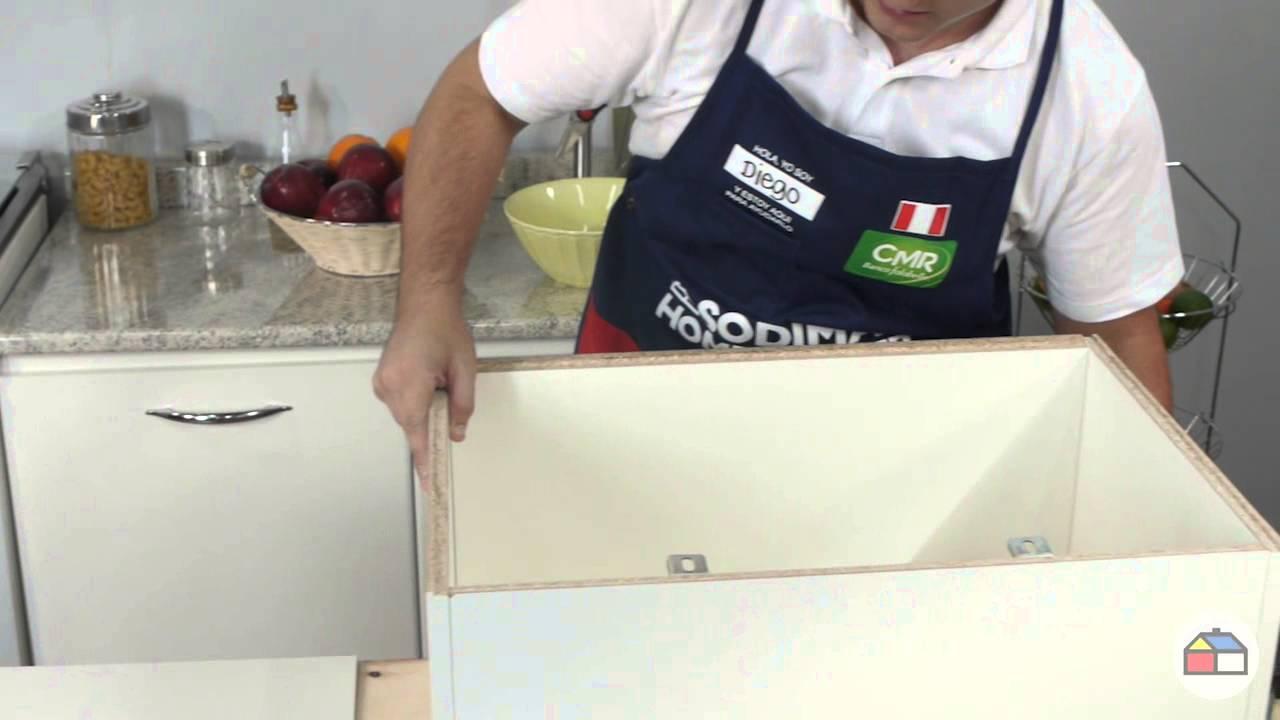C mo hacer un estante para microonda manos a la obra doovi - Estante para microondas ...