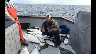 Аляска столица всех рыбаков мира. Легендарный Палтус он же Халибут.