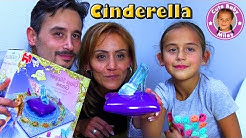 DISNEY CINDERELLA GLASS SLIPPER GAME | Cinderellas gläserner Schuh | CuteBabyMiley