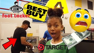 Buying What the Person In Front of Me Buys for 24 Hours | LexiVee03