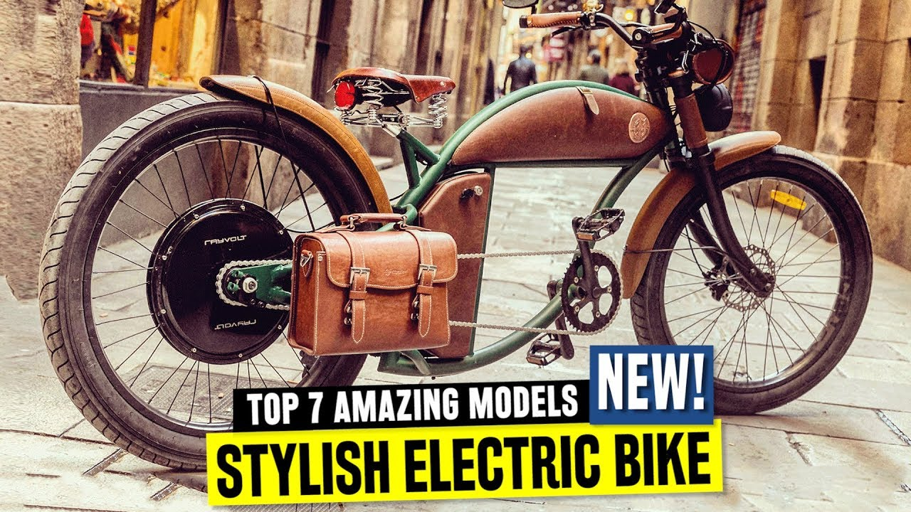 7 New Electric Bikes W   Old School Designs And Retro