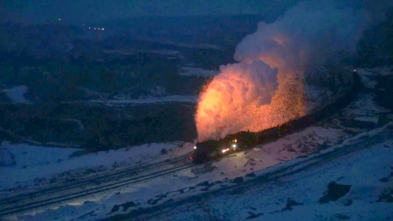 The Chinese coal fired steam engine from hell  Holy Volcano