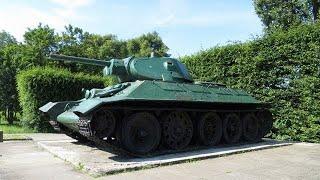T-34 tank, Gdańsk, Pomeranian, Poland, Europe