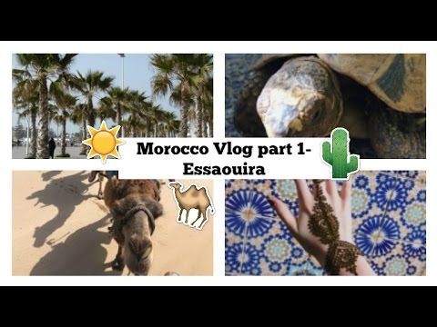 Morocco vlog part 1- Essaouira