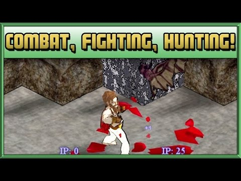 Combat, Fighting, Hunting! - How to Play Hafen Haven & Hearth Guide - #2 - Tips & Tutorial